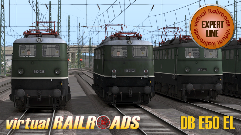 DB E50 Expert-Line van Virtual Railroads is nu uit