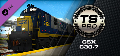 CSX C30-7 Loco Add-On is nu beschikbaar