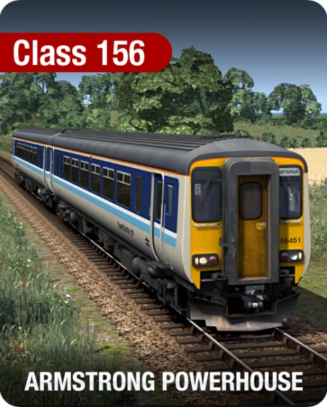 Class 156 Diesel Multiple Unit Pack is nu beschikbaar