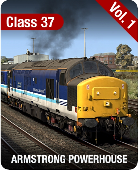 Class 37 Locomotive Pack Vol. 1 is nu beschikbaar