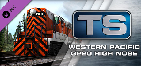 EMD GP20 Western Pacific High Nose Loco add-on is nu beschikbaar op Steam