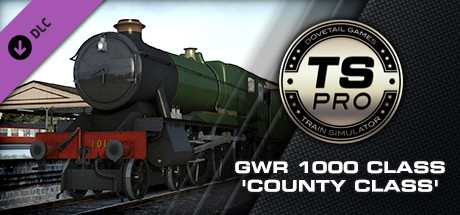 GWR 1000 Class 'County Class' Steam Loco Add-On is nu beschikbaar