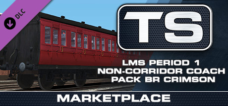 LMS Period 1 Non-Corridor Coach Pack in BR Maroon & BR Crimson is nu beschikbaar