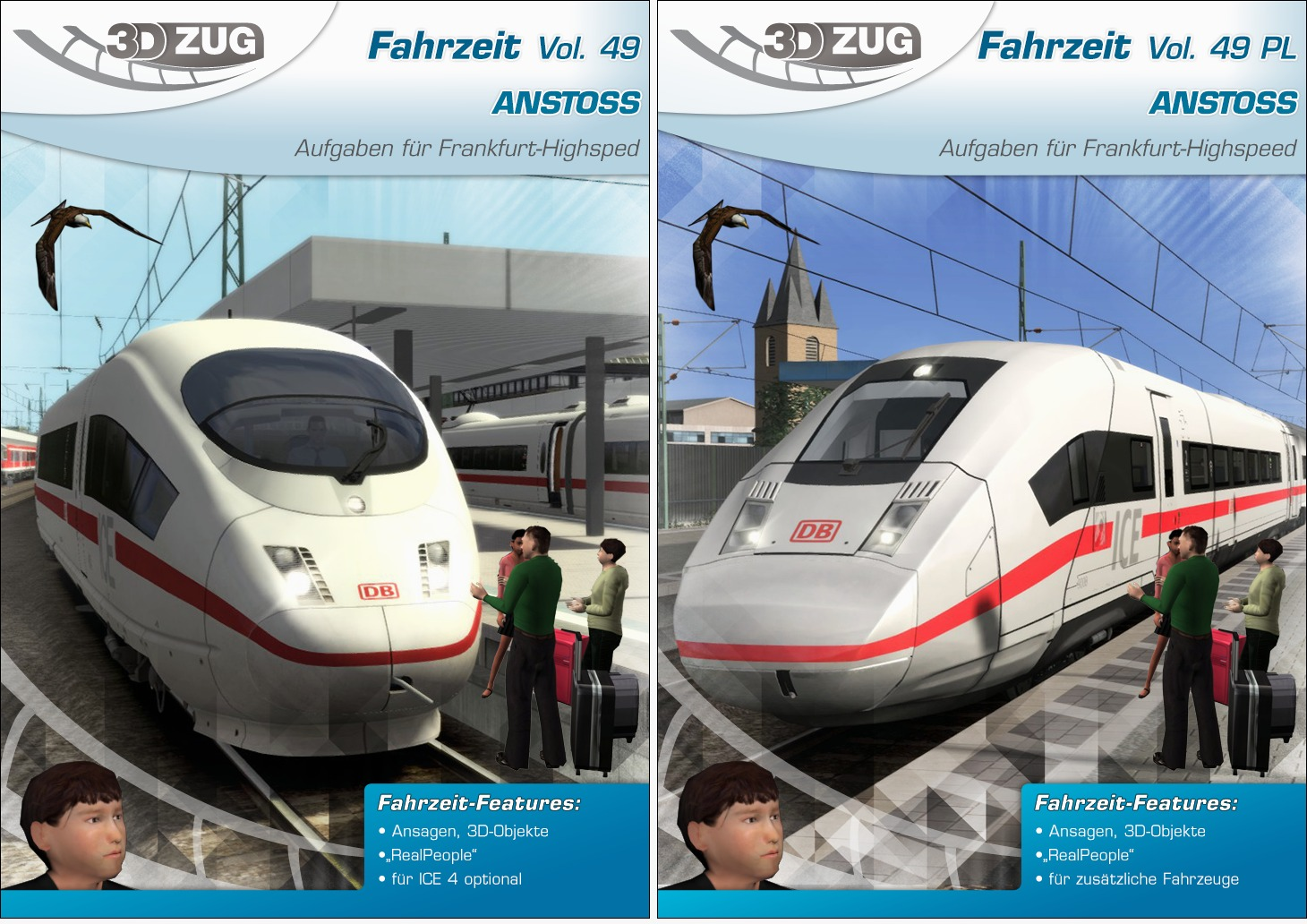 3DZUG Fahrzeit Vol. 49 'ANSTOSS' (in Standard & ProLine) is nu beschikbaar