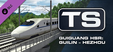 Guiguang High Speed Railway: Guilin - Hezhou Route Add-On is nu beschikbaar