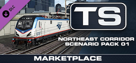 TS Marketplace: Northeast Corridor Scenario Pack 01 Add-On is nu beschikbaar