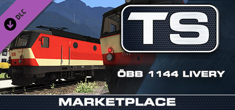 TS Marketplace: ÖBB 1144 Livery Pack Add-On is nu beschikbaar
