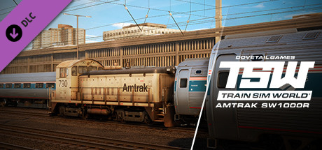 Amtrak SW1000R Loco Add-On is nu beschikbaar