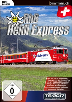 Heidi-Express RhB Route Add-on is nu beschikbaar