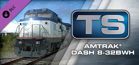 Amtrak® Dash 8-32BWH Loco Add-On is nu beschikbaar op Steam