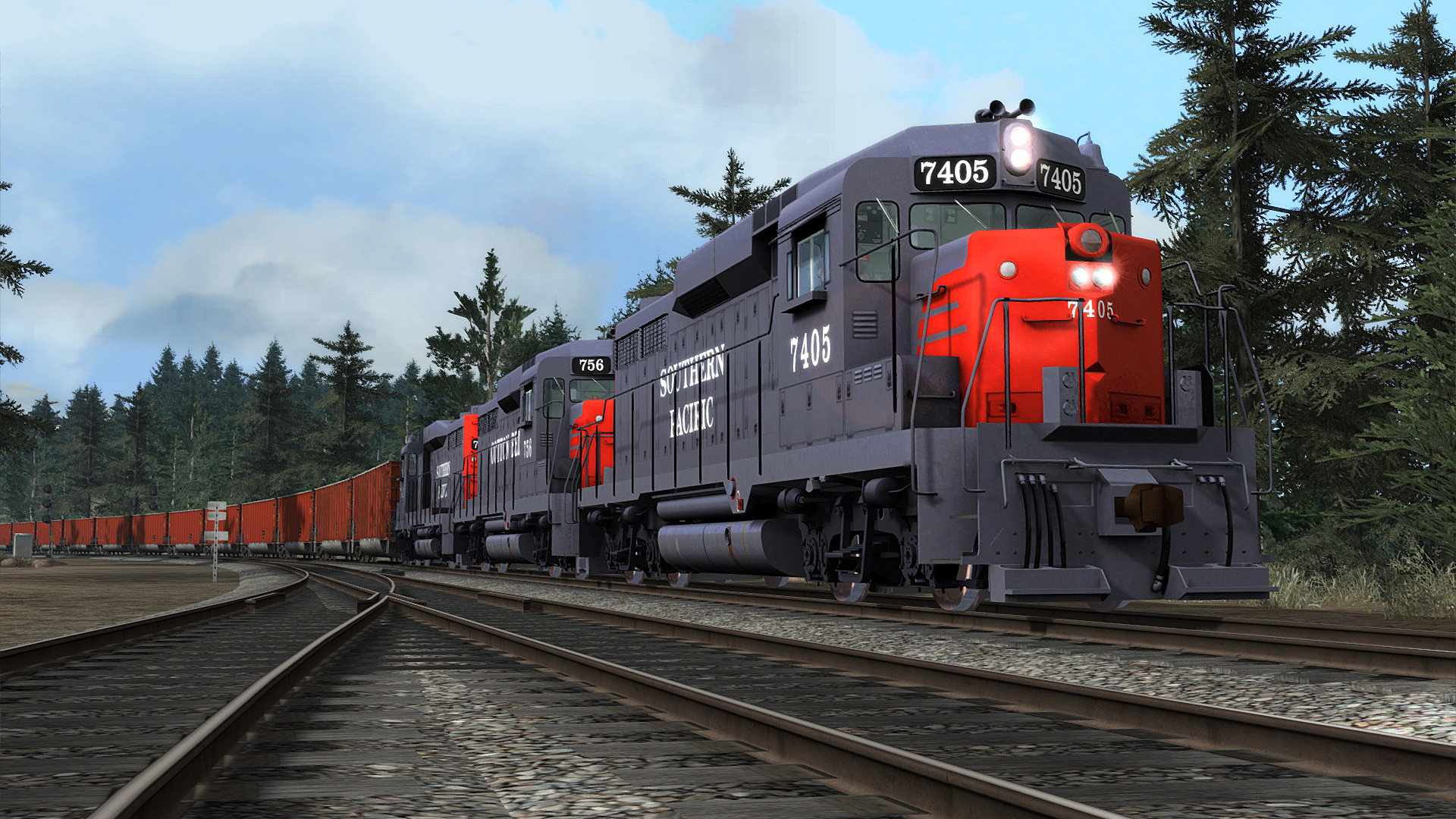 Southern Pacific/Cotton Belt GP30 Livery Add-On is nu beschikbaar