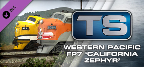 Western Pacific FP7 'California Zephyr' Loco Add-On is nu beschikbaar op Steam